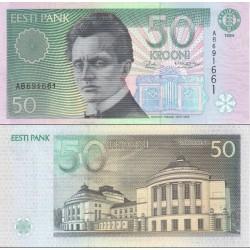 اسکناس 50 کرون - استونی 1994