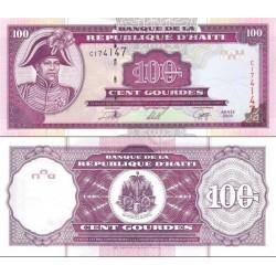 اسکناس 100 گورد - هائیتی 2000