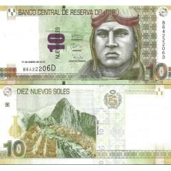 اسکناس 10 نووس سولس - پرو 2013