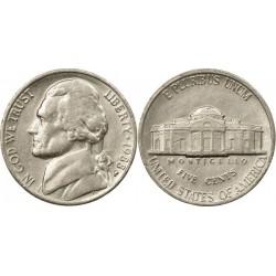 سکه 5 سنت - نیکل مس - آمریکا 1988 غیر بانکی