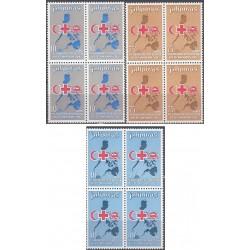بلوک تمبر پنجاهمین سالگرد اتحادیه انجمنهای صلیب سرخ - شیر و خورشید  - فیلیپین 1969