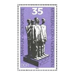 1 عدد تمبر بنای یادبود نوردهاوزن - جمهوری دموکراتیک آلمان 1979