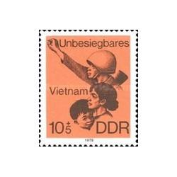 1 عدد تمبر ویتنام - جمهوری دموکراتیک آلمان 1979