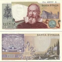 اسکناس 2000 لیر - ایتالیا 1983