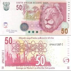 اسکناس 50 رند - سری حیوانات - آفریقای جنوبی 2010