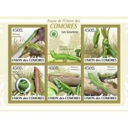 مینی شیت مارمولک های  بومی  - کومور 2009 قیمت 11.64 دلار