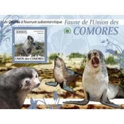 سونیرشیت پستانداران - فوک خزدار قطبی - کومور 2009 قیمت 13.97 دلار