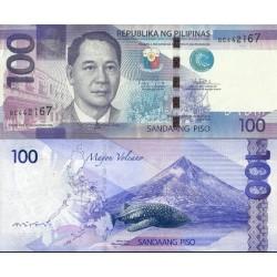 اسکناس 100 پیزو - فیلیپین 2014