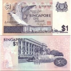 اسکناس 1 دلار - سنگاپور 1976