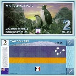 اسکناس فانتزی 2 دلار - قطب شمال 2008