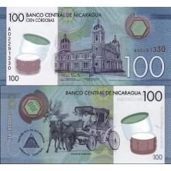 اسکناس پلیمر 100 کوردوبا - نیکاراگوئه 2014
