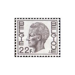 1 عدد تمبر سری پستی -  بلژیک 1974