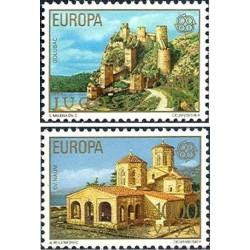 2 عدد تمبر مشترک اروپا - Europa Cept - یوگوسلاوی 1978