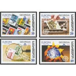 4 عدد تمبر مشترک اروپا - Europa Cept - پنجاهمین سالروز تمبرهای اروپا - گرجستان 2006  قیمت 3.4 دلار