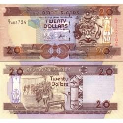 اسکناس 20 دلار - جزایر سلیمان 2004