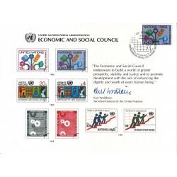 مهر روز شورای اقتصادی و  اجتماعی - ژنو - سازمان ملل 1980