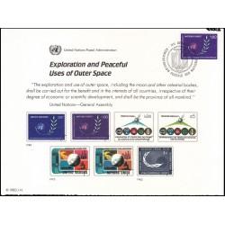 مهر روز دومین کنفرانس اکتشاف و استفاده مسالمت آمیز از فضا  - ژنو - سازمان ملل 1982