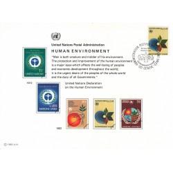 مهر روز محیط زیست ما  - ژنو - سازمان ملل 1982