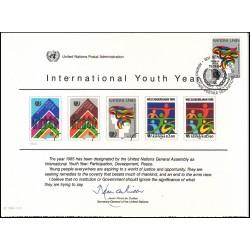 مهر روز سال بین المللی جوانان - ژنو - سازمان ملل 1984