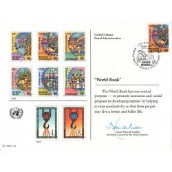 مهر روز بانک جهانی  - ژنو - سازمان ملل 1989
