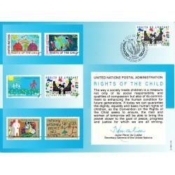 مهر روز حقوق کودکان  - ژنو - سازمان ملل 1991