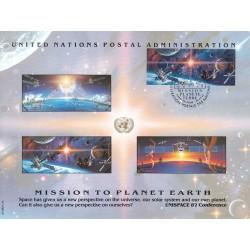 مهر روز ماموریت زمین  - ژنو - سازمان ملل 1992