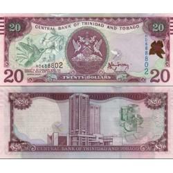اسکناس 20 دلار - ترینیداد توباگو 2006 امضا Jwala Rambarran