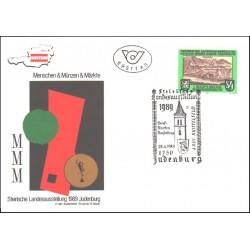پاکت مهر روز  نمایشگاه جودنبورگ - اتریش 1989