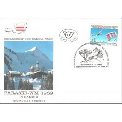 پاکت مهر روز مسابقات جهانی گلایدر - اتریش 1989