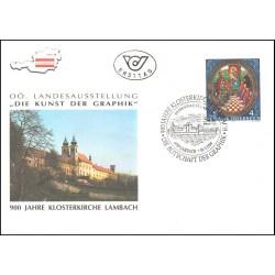 پاکت مهر روز نمایشگاه استانی در لامباخ - اتریش 1989