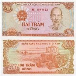 اسکناس 200 دونگ ویتنام 1987
