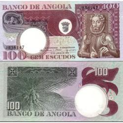 اسکناس 100 اسکودو - آنگولا 1973