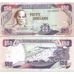 اسکناس 50 دلار - جامائیکا 2004