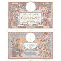 اسکناس تابلویی 100 فرانک  - فرانسه 1936 کیفیت مطابق نصویر