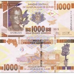 اسکناس 1000 فرانک - گینه 2015