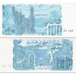 اسکناس 100 دینار - الجزائر 1982