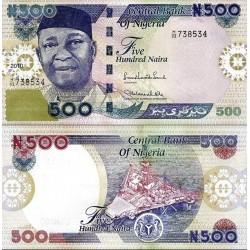 اسکناس 500 نایرا - نیجریه 2010