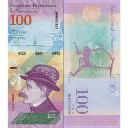 اسکناس 100 بولیوار - ونزوئلا 2018