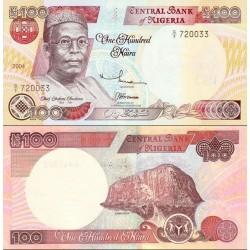 اسکناس 100 نایرا - نیجریه 2004