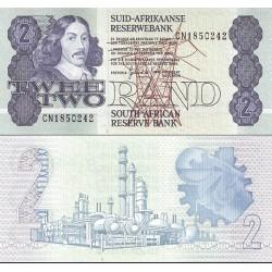 اسکناس 2 رند - آفریقای جنوبی 1980