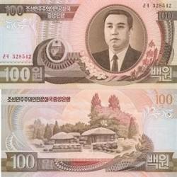اسکناس 100 وون کره شمالی 1992 تک