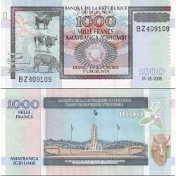 اسکناس 1000 فرانک - بروندی 2009
