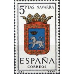 1 عدد تمبر آرم استانها -  Navarra - اسپانیا 1964