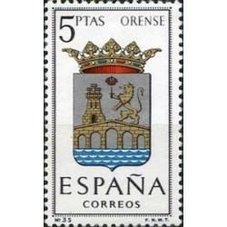 1 عدد تمبر آرم استانها -  Orense - اسپانیا 1964