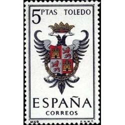 1 عدد تمبر آرم استانها - Toledo - اسپانیا 1966
