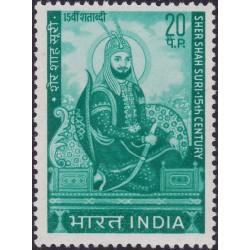 1 عدد تمبر یادبود شیرشاه سوری - هندوستان 1970
