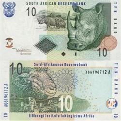 اسکناس 10 رند - آفریقای جنوبی 2005
