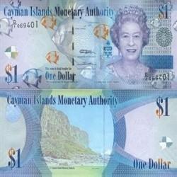 اسکناس 1 دلار - جزایر کایمن 2010 تک