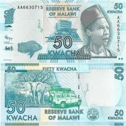 اسکناس 50 کواچا - مالاوی 2012 تک