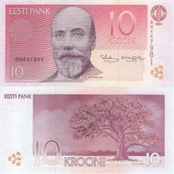 اسکناس 10 کرون - استونی 1994